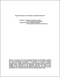 quine duhem thesis paper